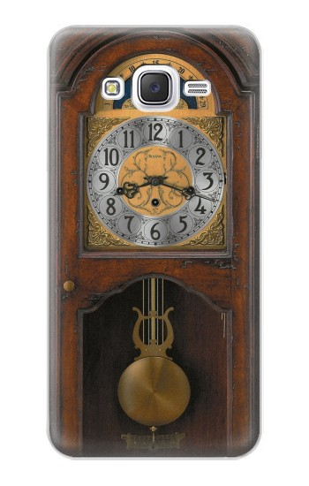 Printed Grandfather Clock Antique Wall Clock Samsung Galaxy J5 Case