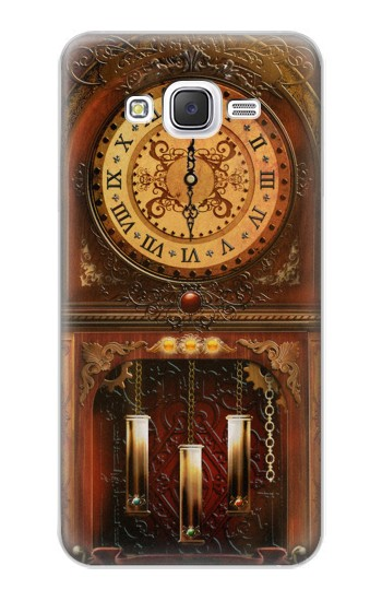 Printed Grandfather Clock Samsung Galaxy J5 Case