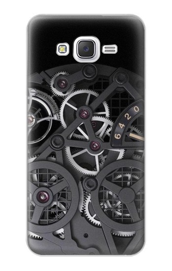 Printed Inside Watch Black Samsung Galaxy J5 Case
