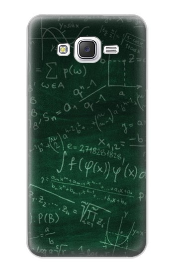 Printed Math Formula Greenboard Samsung Galaxy J5 Case