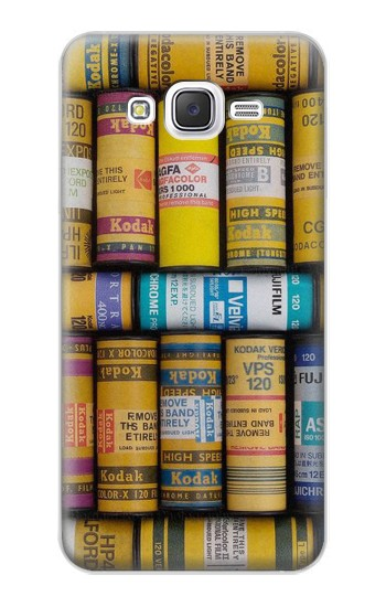 Printed MM Film Camera Samsung Galaxy J5 Case
