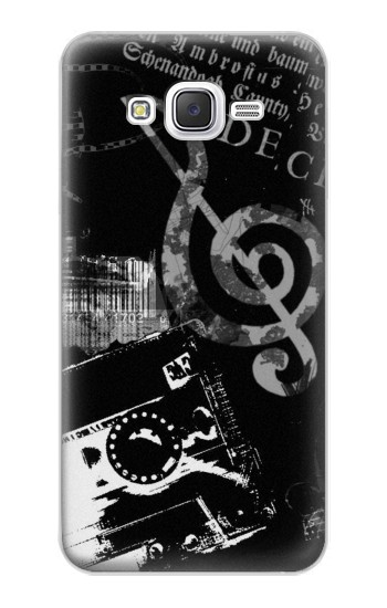 Printed Music Cassette Note Samsung Galaxy J5 Case