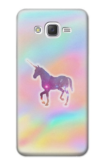 Printed Rainbow Unicorn Samsung Galaxy J5 Case