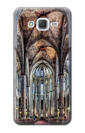 Printed Santa Maria Del Mar Cathedral Samsung Galaxy J5 Case