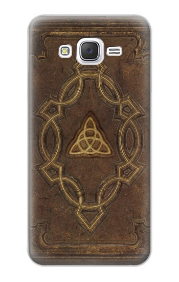 Printed Spell Book Cover Samsung Galaxy J5 Case