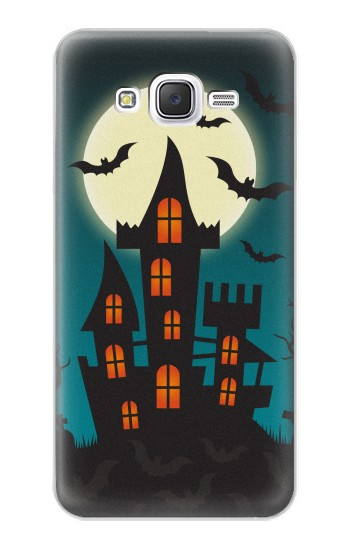 Printed Halloween Festival Castle Samsung Galaxy J5 Case