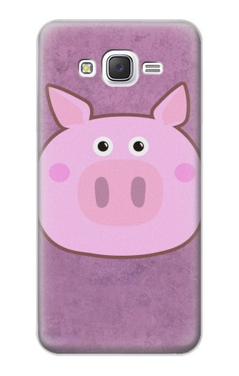 Printed Pig Cartoon Samsung Galaxy J5 Case