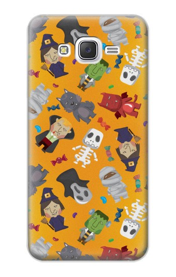 Printed Cute Halloween Cartoon Pattern Samsung Galaxy J5 Case