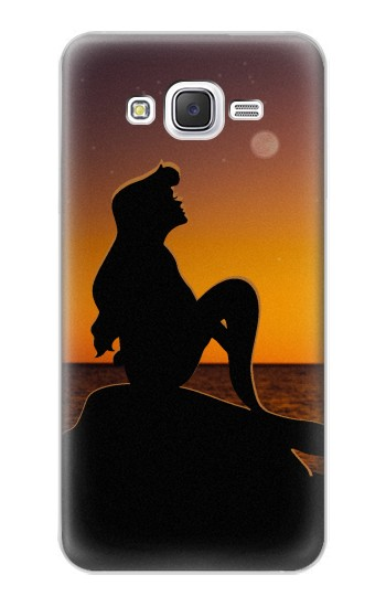 Printed Mermaid Sunset Samsung Galaxy J5 Case