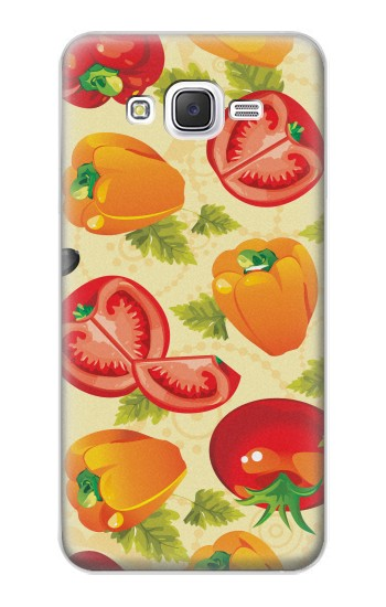 Printed Seamless Food Vegetable Samsung Galaxy J5 Case
