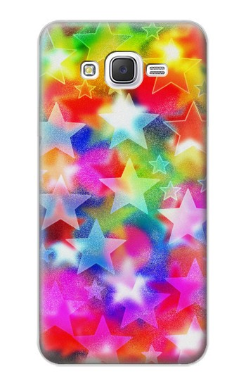 Printed Colourful Disco Star Samsung Galaxy J5 Case
