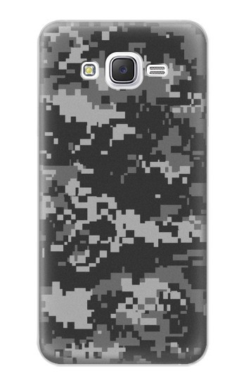 Printed Urban Black Camouflage Samsung Galaxy J5 Case