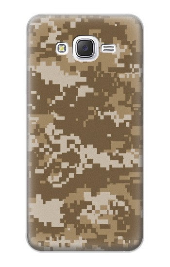 Printed Army Camo Tan Samsung Galaxy J5 Case