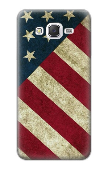 Printed US National Flag Samsung Galaxy J5 Case