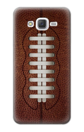 Printed Leather Vintage Football Samsung Galaxy J5 Case