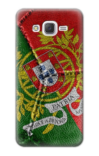 Printed Portugal Flag Vintage Football 2018 Samsung Galaxy J5 Case
