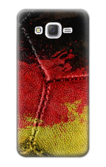 Printed Germany Flag Vintage Football 2018 Samsung Galaxy J5 Case
