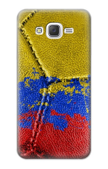 Printed Colombia Flag Vintage Football 2018 Samsung Galaxy J5 Case