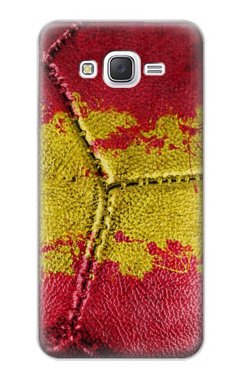 Printed Spain Flag Vintage Football 2018 Samsung Galaxy J5 Case