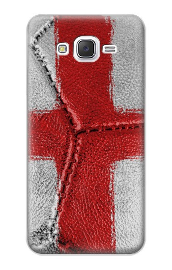 Printed England Flag Vintage Football 2018 Samsung Galaxy J5 Case