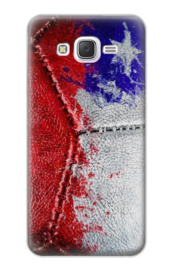 Printed Chile Flag Vintage Football 2018 Samsung Galaxy J5 Case