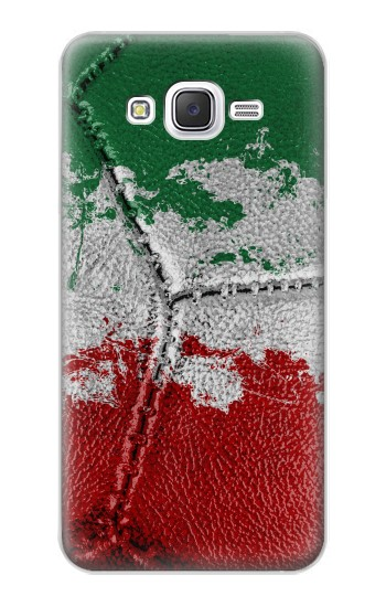 Printed Italy Flag Vintage Football 2018 Samsung Galaxy J5 Case