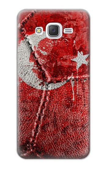 Printed Turkey Flag Vintage Football 2018 Samsung Galaxy J5 Case