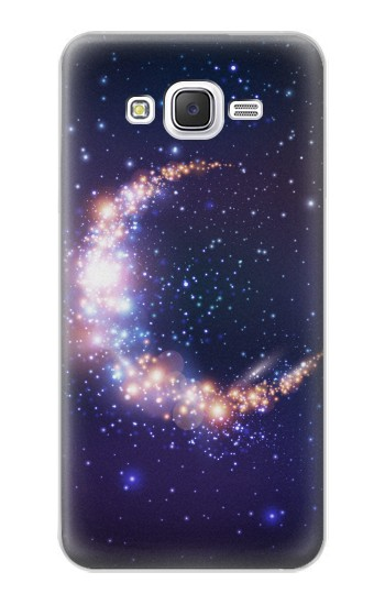 Printed Crescent Moon Galaxy Samsung Galaxy J5 Case