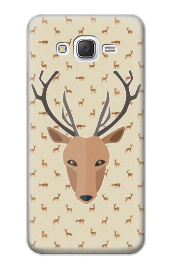 Printed Deer Pattern Samsung Galaxy J5 Case