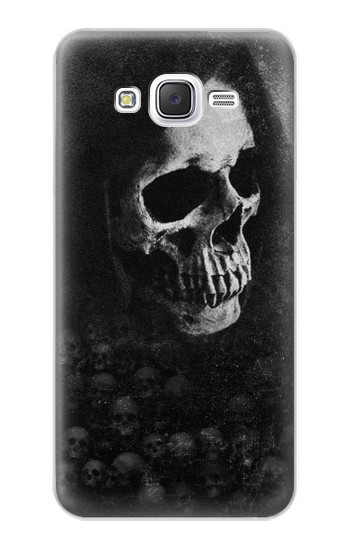 Printed Death Skull Samsung Galaxy J5 Case