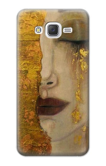 Printed Gustav Klimt Golden Tears Samsung Galaxy J5 Case