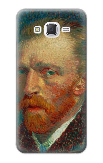 Printed Vincent Van Gogh Self Portrait Samsung Galaxy J5 Case