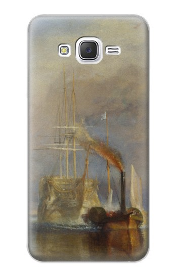 Printed Joseph Mallord William Turner The Fighting Temeraire Samsung Galaxy J5 Case