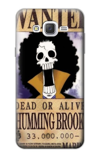 Printed One Piece Humming Brook Wanted Poster Samsung Galaxy J7 Case