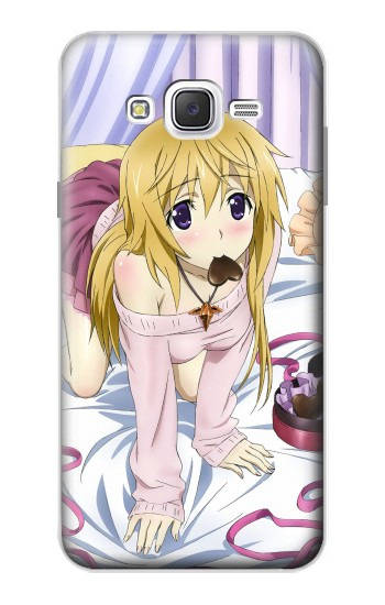 Printed Infinite Stratos Charlotte Dunois Samsung Galaxy J7 Case