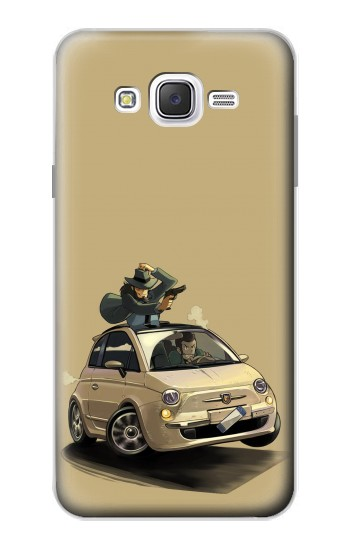 Printed Lupin The Third Samsung Galaxy J7 Case