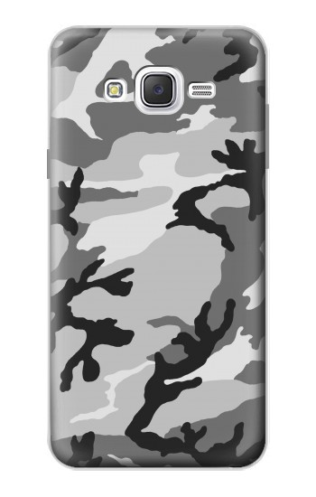Printed Snow Camo Camouflage Graphic Printed Samsung Galaxy J7 Case