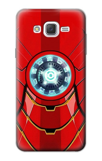 Printed Ironman Armor Arc Reactor Graphic Printed Samsung Galaxy J7 Case