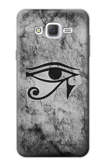Printed Sun Eye Of Horus Samsung Galaxy J7 Case