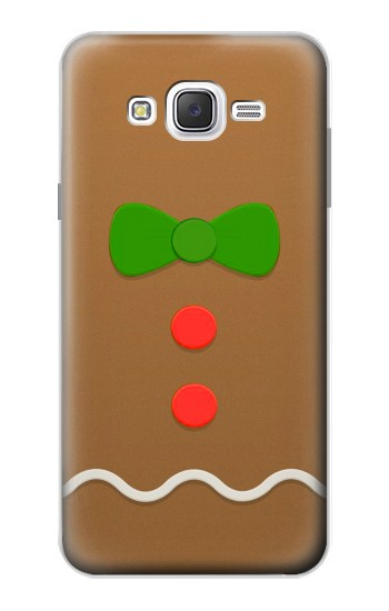 Printed Gingerbread Man Samsung Galaxy J7 Case