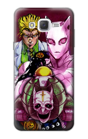 Printed Jojo Bizarre Adventure Kira Yoshikage Killer Queen Samsung Galaxy J7 Case