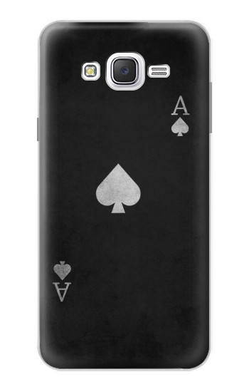 Samsung Galaxy J7 Black Ace of Spade Case Cover