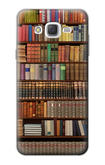 Printed Bookshelf Samsung Galaxy J7 Case