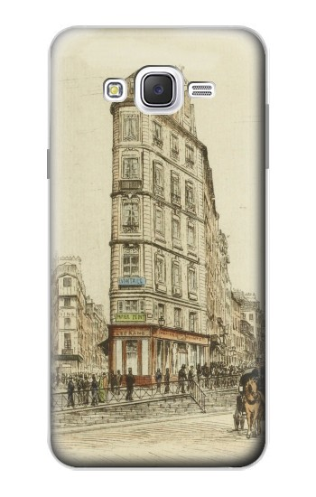 Printed Boulevards of Paris Samsung Galaxy J7 Case