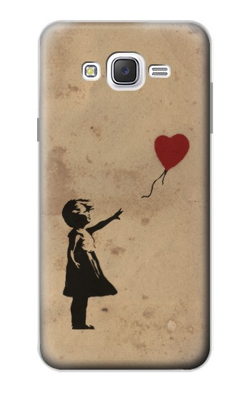 Printed Girl Heart Out of Reach Samsung Galaxy J7 Case
