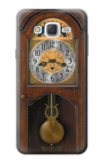 Printed Grandfather Clock Antique Wall Clock Samsung Galaxy J7 Case