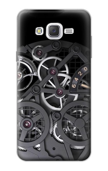 Printed Inside Watch Black Samsung Galaxy J7 Case