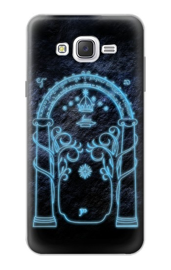 Printed Lord of The Rings Mines of Moria Gate Samsung Galaxy J7 Case