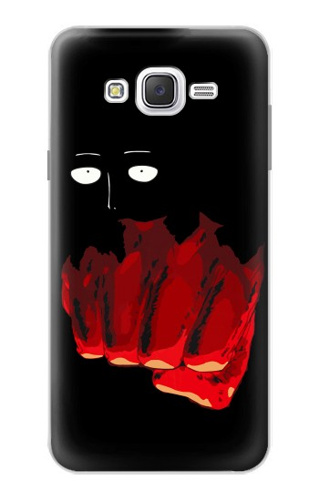 Printed One Punch Man Fight Samsung Galaxy J7 Case