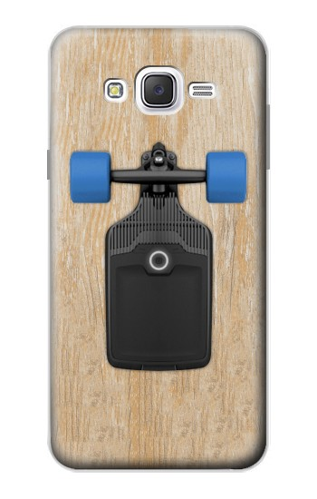 Printed Skateboard Samsung Galaxy J7 Case